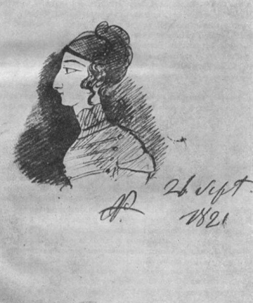 Калипсо Полихрони — гречанка, бежавшая вместе с матерью из Константинополя в Кишинёв, где с ней познакомился Пушкин. К ней обращено его стихотворение «Гречанке» и рисунок «Портрет Калипсо» (1821).