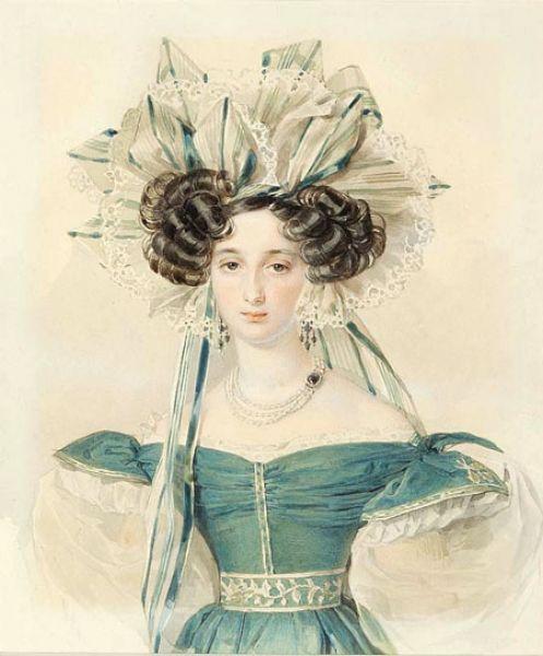 Елизавета Ксаверьевна Воронцова или Элиза — графиня, адресат многих пушкинских стихов: «Ненастный день потух…», «Желание славы», «Кораблю», «Прощание». Пушкин неоднократно изображал её в рукописях.