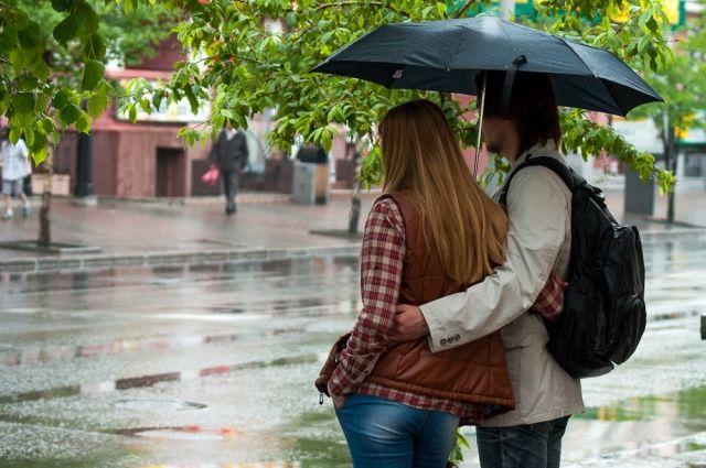 В выходные на улицу только с зонтом