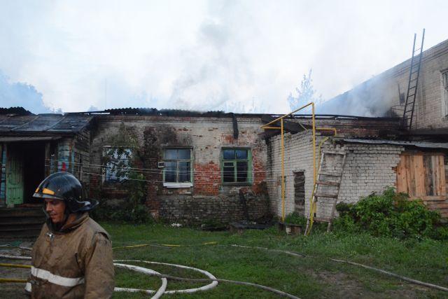Напожаре вРязанском районе погибли три человека