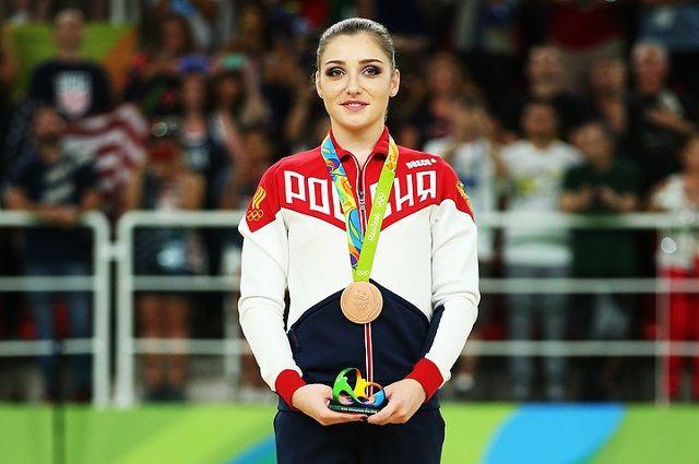 Гимнастка Алия Мустафина завоевала бронзу Олимпиады вмногоборье