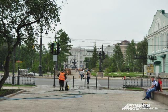 Омск - город всех поколений.