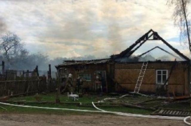 7-летний ребенок сгорел вжилом брянском доме
