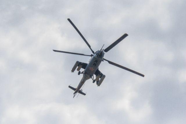 Силачка изИркутска сдвинула сместа вертолет наавиашоу вТюмени