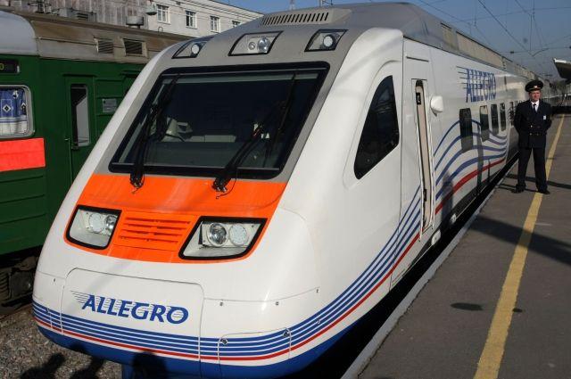 Из-за дорожной аварии из Российской Федерации вФинляндию неходят поезда «Аллегро»