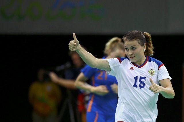 Русские гандболистки обыграли сборную Нидерландов