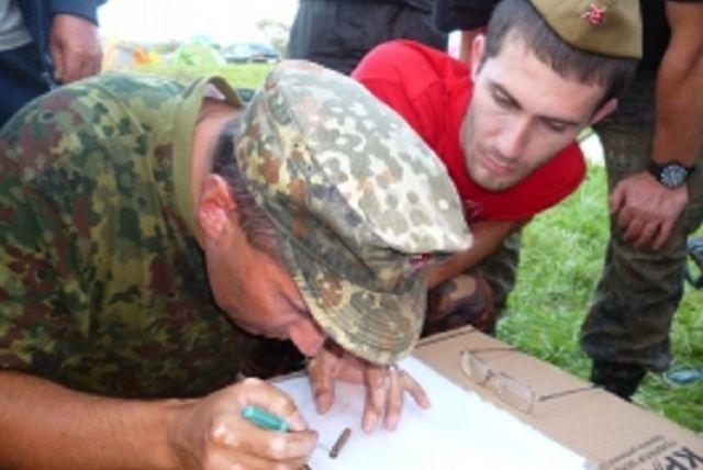 Игорь Руденя иВладимир Мединский посетили международный лагерь «Калининский фронт»