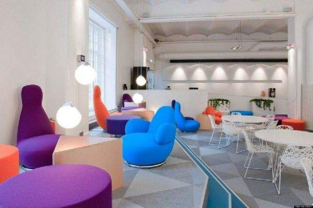 Стокгольмский офис компании Skype с изобретательным дизайном