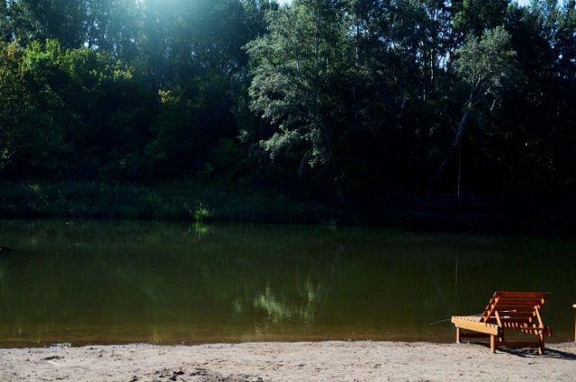 ВОренбуржье четырехлетняя девочка иееотец утонули, переплывая реку