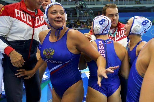 Русские ватерполистки пробились вполуфинал Олимпийских игр вРио
