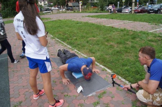 Результаты гостей проверяли мастера спорта.