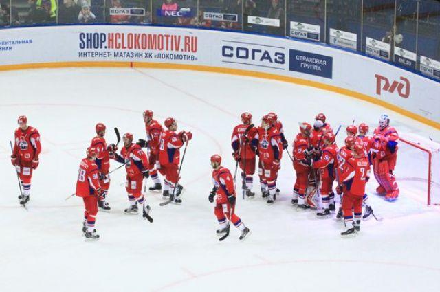 Хоккеисты «Локомотива» обыграли «АкБарс» вматче предсезонного турнира вРиге
