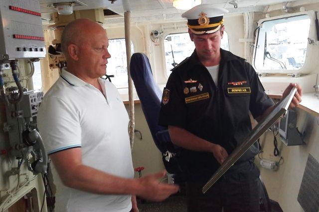 По словам Виктора Назарова, шефство над таким кораблём – большая честь.
