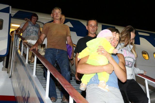 Первых бежавших от войны Камчатка приняла 2 сентября 2014 года.