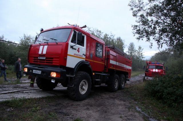 Cотрудники экстренных служб ликвидируют природный пожар площадью 20 гавКраснокамском районе Прикамья