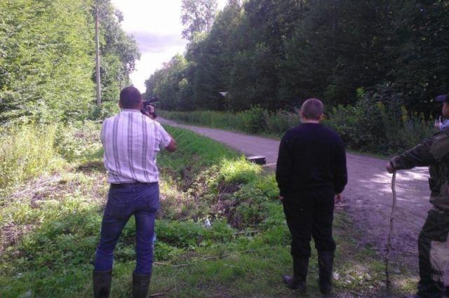 Пропавшего грибника искали также с помощью беспилотников.