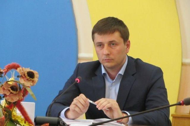 Губернатор Житомирской области Сергей Машковский написал объявление наувольнение