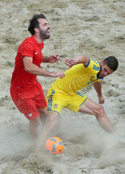 По итогам 1 тура, Украина сыграла с поляками со счетом 3-3, но по пенальти все же проиграла со счетом 2-0