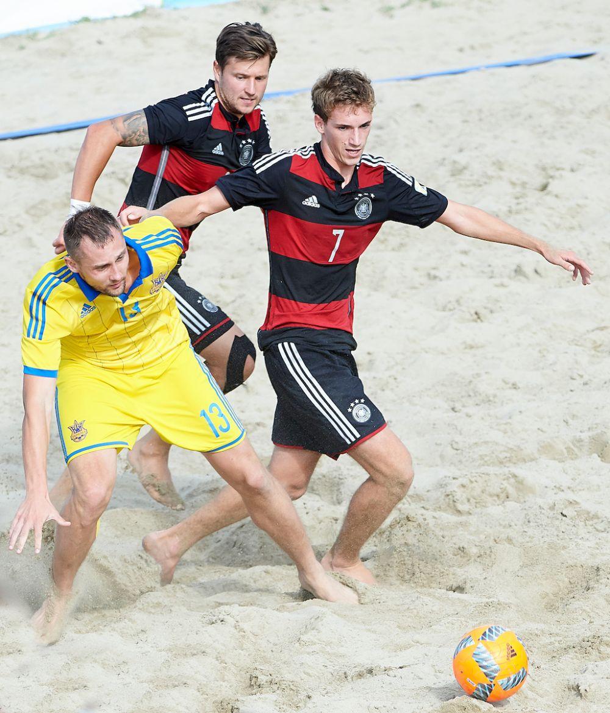 Украинцев опекали часто по двое игроков сборной Германии