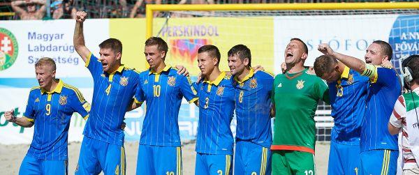 В решающей для украинцев серии пенальти победа была одержана со счетом 3-1, при общем счете 1-1