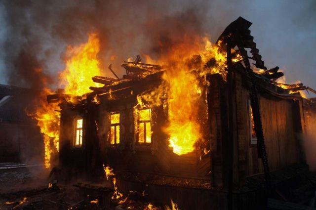 Врезультате сильного возгорания вЖитомирской области умер ребенок, еще двое детей пострадали