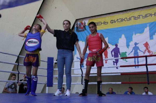 Прошли  даже отборочные соревнования к чемпионату России по тайскому боксу.