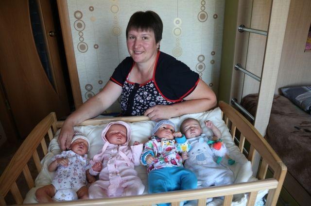 Кулуевских кукол покупают по всему миру.