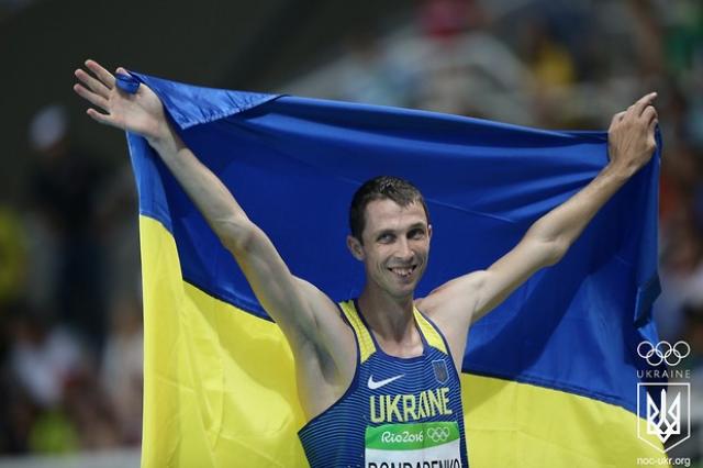 Канадец Дроуин одержал победу золото Олимпиады всоревнованиях попрыжкам ввысоту