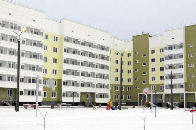 Первый муниципальный дом построили в Перми в 2014 г.