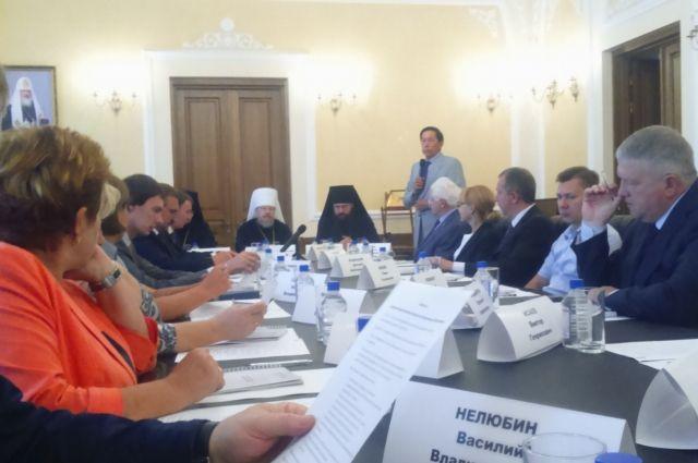Первое заседание общественного совета при Красноярской митрополии.