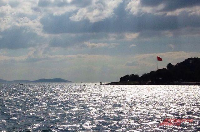 Движение через Босфор приостановлено из-за столкновения судов