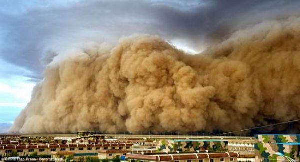 Песчаная буря - явление, которое раскрывает всю мощь природы