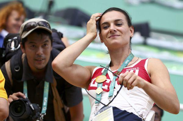«Сегодня она была на трибунах во время наших соревнований, было приятно», — сказала Светлана Ромашина.