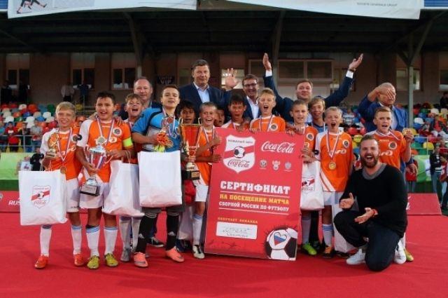 Финал всероссийского турнира «Кожаный мяч» собрал вНижнем Новгороде 12 команд