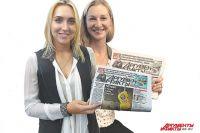 Елена (слева) и Катя благодарный читателям «АиФ» за поддержку.
