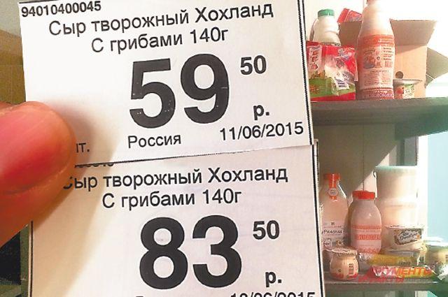 Росстат зафиксировал нулевую инфляцию за минувшую неделю