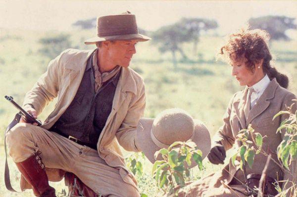 В 1985 году Редфорд вместе с Мэрил Стрип сыграл в мелодраме «Из Африки» режиссера Сидни Поллака.