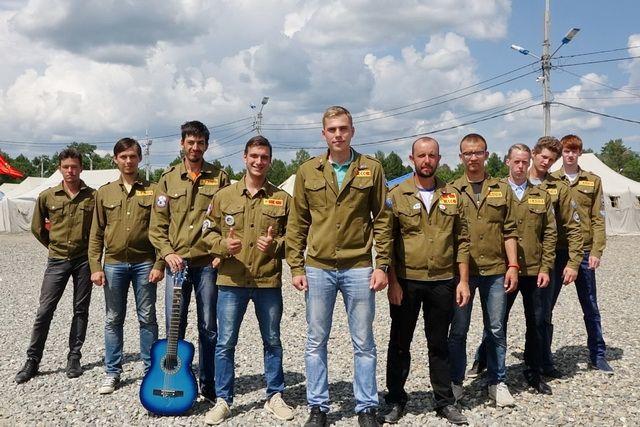Отряд «Вулкан» из 10 студентов представляет Камчатку на Всероссийской стройке «Космодром «Восточный».