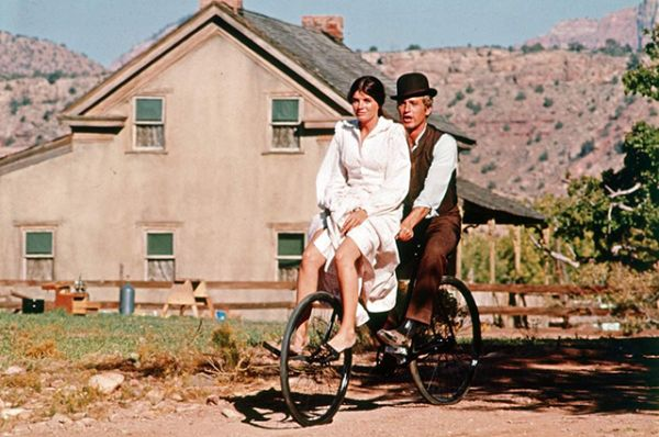 Одна из самых известных ролей Редфорда - в культовом вестерне, основанном на реальных событиях, «Буч Кэссиди и Сандэнс Кид» (1969), где он сыграл в паре с Полом Ньюманом.