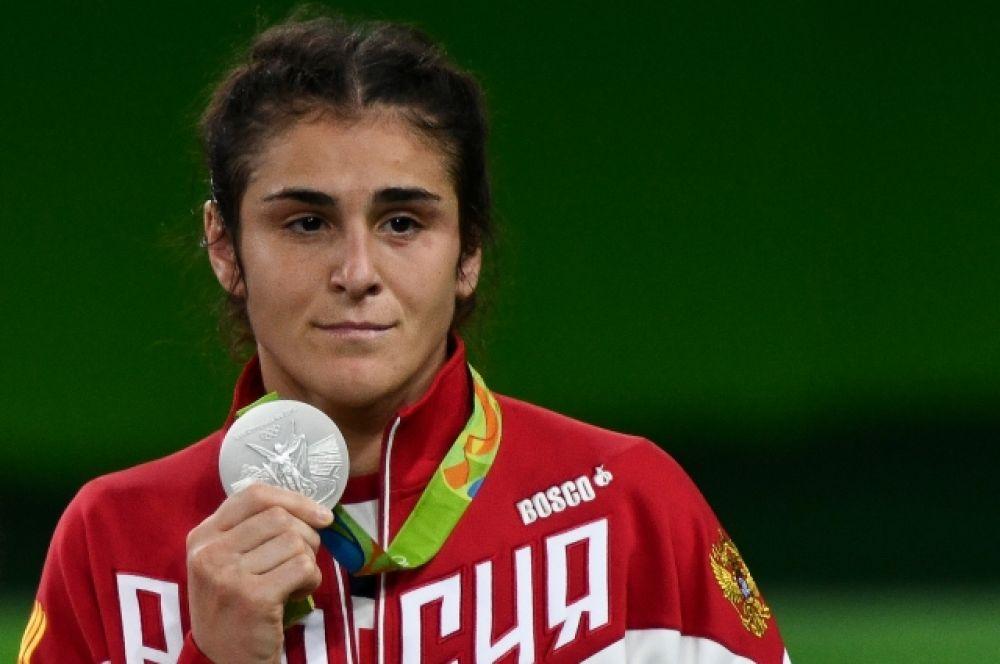 Наталья Воробьева принесла серебро в соревнованиях по вольной борьбе в весовой категории до 69 кг