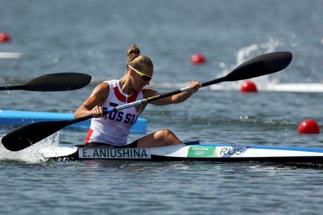 Елена Анюшина вышла вполуфинал Олимпиады вбайдарке-одиночке на500 метров