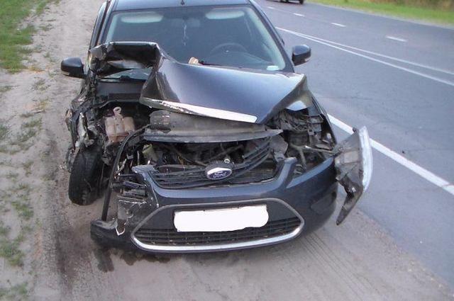 Жительница Канска угнала автомобиль усестры и угодила вДТП