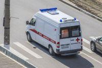 Водитель не пострадал, но его госпитализировали для обследования.