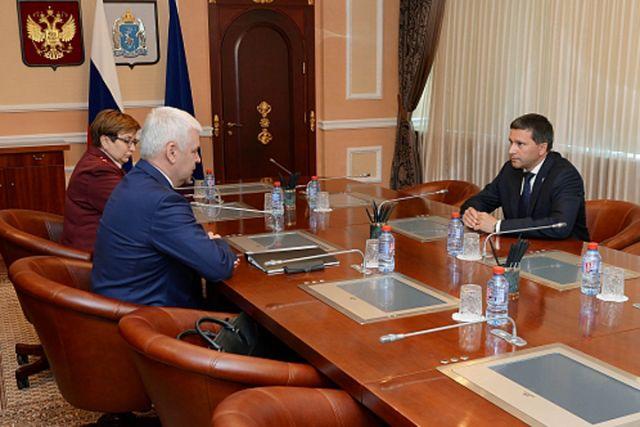 Губернатор Ямала встретился свице-президентом компании «Лукойл»
