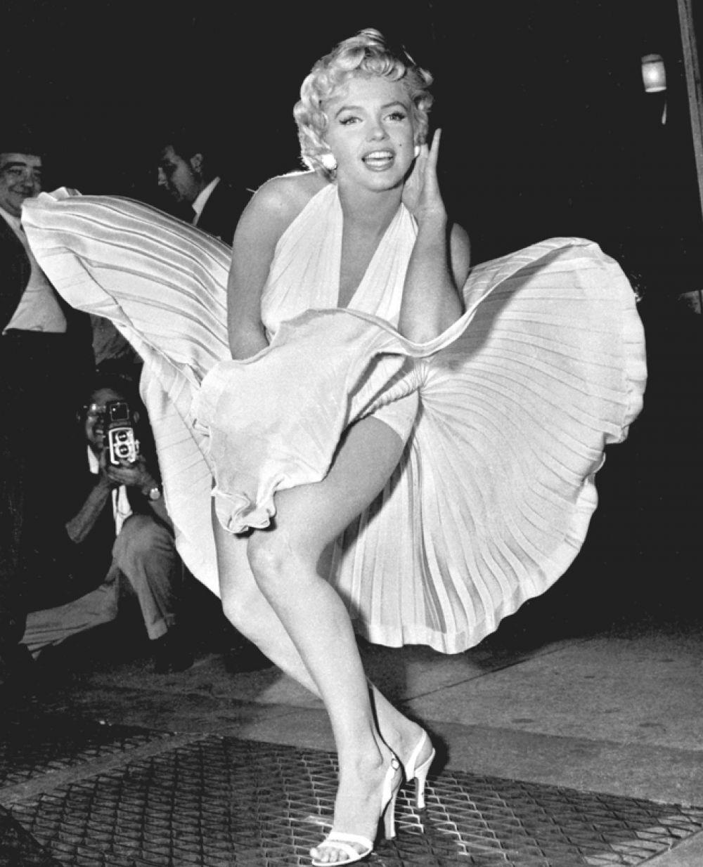 Мэрилин Монро в картине «Зуд седьмого года», 1955 год.