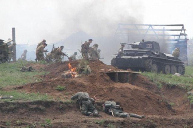 Реконструкция боев заМиус-фронт пройдет вМатвеево-Курганском районе