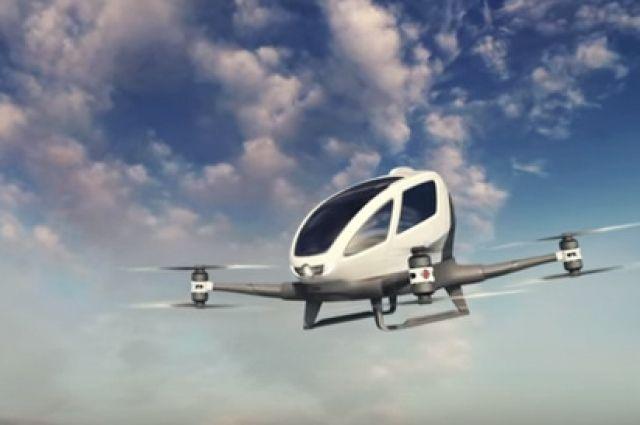 Airbus протестирует беспилотное летающее такси в следующем году