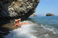 На пляжах Балаклавы можно найти укромный уголок.