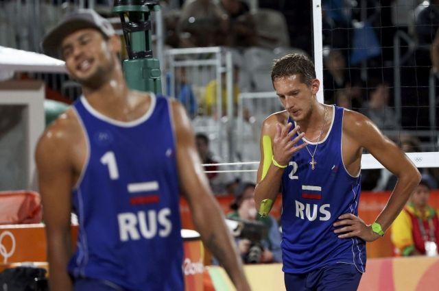 Русские  «пляжники» сыграли «грязно» вматче за 3-е  место наОИ— Семенов