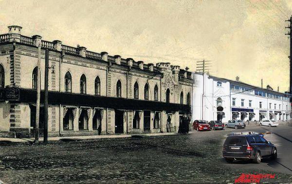 В здании общежития пермского Педуниверситета по улице Советской (в XX веке - улица Торговая) 100 лет назад был дом терпимости. По преданиям, здесь до сих пор слышен плач работниц борделя.